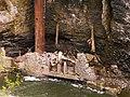 Collapsed Hydraulics Laboratory In Fall Creek (4574946353).jpg