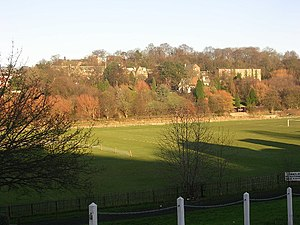 College of St Hild and St Bede, Durham - Playing fields of the College.