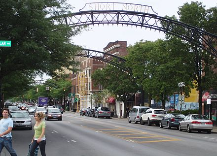 "The Short North district hosts the ""Gallery Hop"" monthly. Columbus Short North.jpg"