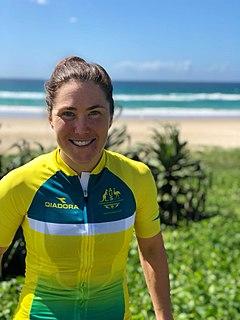 Chloe Hosking Australian cyclist