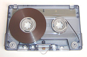 compact audio cassette, normal Fe I tape, Sony