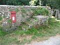 Compton Abbas, postbox No. SP7 107, East Compton - geograph.org.uk - 1509613.jpg