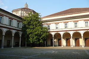 Milan Conservatory - Inner court of the conservatory