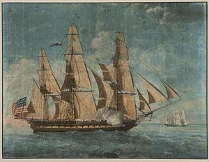 USS Constitution - Constitution c. 1803–04