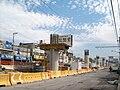 Construcción del tramo Periférico-San Lorenzo Tezonco de la Linea 12 del STC-Metro de la Ciudad de México.jpg