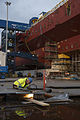 Construction of HMS Queen Elizabeth MOD 45157118.jpg