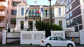 French Consulate of Cape Town - The French Consulate of Cape Town in 2014