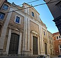 Convento Carmelitani (facciata della chiesa del Carmine) - Fermo (Marche), Italy.jpg