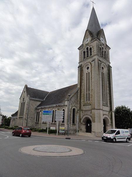 Corbeny (Aisne) église