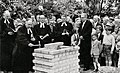 Corvinus Hannover Stöcken Grundsteinlegung 1960.jpg