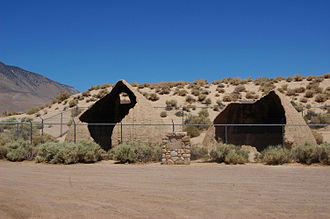 California Historical Landmarks in Inyo County - Image: Cottonwood Charcoal Kilns