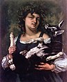 Courbet - Village Girl with Kid, 1860.jpg