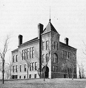 Spirit Lake, Iowa - Courthouse in Spirit Lake, 1902