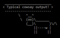 Cowsay Typical Output.png