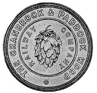 Hawkhurst branch line - Image: Cranbrook and Paddock Wood Railway Seal