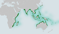 Crazy fish (Butis butis) distribution range.png