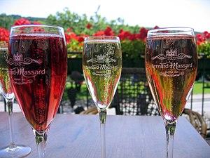 Luxembourg wine - Sparkling Crémant de Luxembourg.