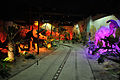 Cretaceous Period - Dark Ride - Science Exploration Hall - Science City - Kolkata 2016-02-22 0369.JPG