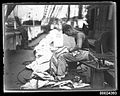 Crew member on deck preparing sails, MAGDALENE VINNEN (3364809364).jpg