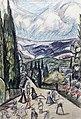 Crimean Landscape (Rozanova, 1913).jpeg
