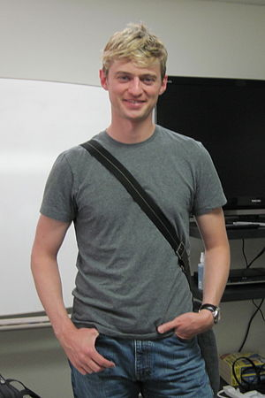 Crispin Freeman - Crispin in 2009, after teaching at the JVTA-LA.