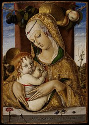 Carlo Crivelli: Madonna and Child