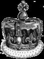 Crown of Charles II as set for James II in 1685.png