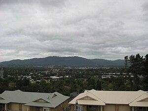Croydon, Victoria - View of Croydon and Mount Dandenong