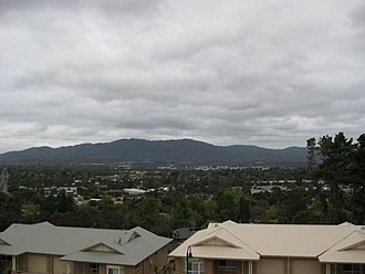 Croydon, Victoria - View of Croydon and Mount Dandenong