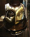 Cuirass holed by a canonball at Waterloo Antoine Fauveau 18Juin 1815.jpg