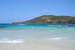 Flamenco Beach a Culebra