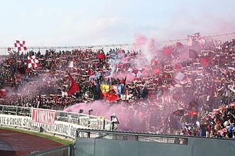 A.S. Livorno Calcio - Livorno supporters in 2007.