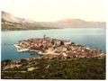 Curzola, general view, Dalmatia, Austro-Hungary-LCCN2002710761.tif