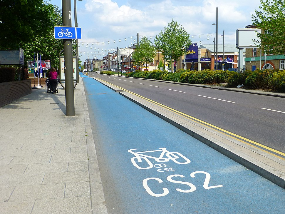 CycleSuperhighway2Stratford-London-P1300696