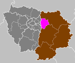 Location of Torcy in Île-de-France