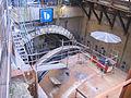 Düsseldorf Wehrhahn-Linie, Abbau des Bohrkopfs der Tunnelbohrmaschine Januar 2012 (3).jpg