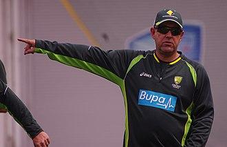 Darren Lehmann - Lehmann coaching Australia in 2014
