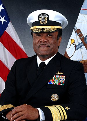 D.C. Curtis - Vice Admiral D.C. Curtis, official USN photograph 2009