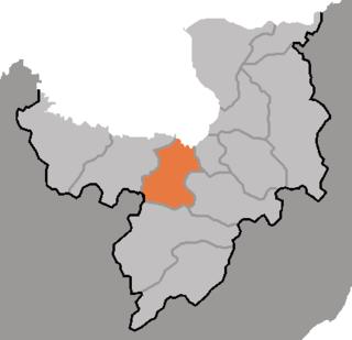 Samsu County County in Ryanggang, North Korea