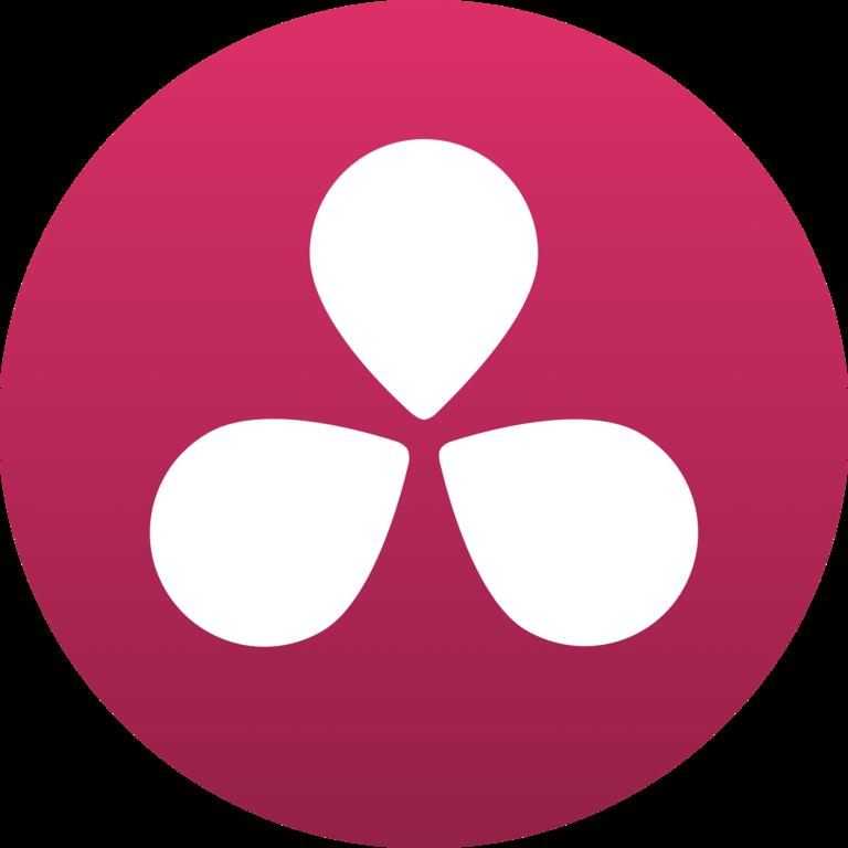 Resultat d'imatges de logo BlackMagid DaVinci Resolve 15 Beta