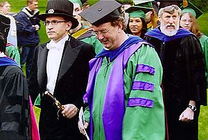 Robes from Germany and from Finland @ a gradua...