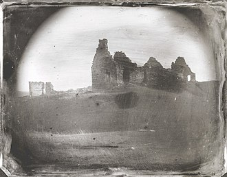 Fort Ticonderoga - Daguerreotype of the ruins of Fort Ticonderoga