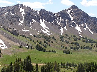 Gallatin National Forest - Image: Daisy Pass Gallatin National Forest (3762835307)