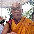Dalai Lama at Xiaolin Village 31aug09.jpg