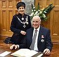 Dame Patsy Reddy and Sir David Gascoigne 2016.jpg