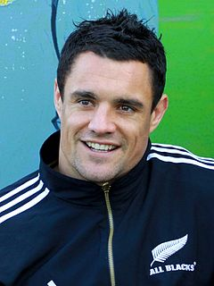 Dan Carter New Zealand rugby union player