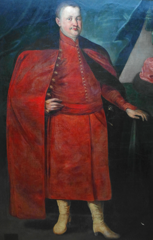 Konstanty Wasyl Ostrogski - Portrait by Peeter Danckers de Rij