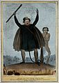 Daniel O'Connell transmuted into the form of Satan stands ar Wellcome V0050226.jpg