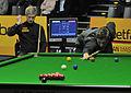 Daniel Wells and Neil Robertson at Snooker German Masters (DerHexer) 2013-01-30 06.jpg