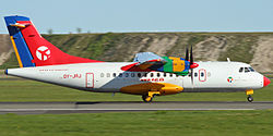 ATR 42-300 der Danish Air Transport